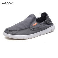 Mens Loafers Casual Male Breathable Umbrella Cloth Canvas Shoes Men Chinese Fashion 2019 Soft Slip on Espadrilles for Men Shoes