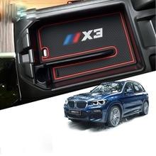RUIYA автомобиля центральный подлокотник Организатор отделение для хранения перчаток для BMW X3 G01, ящик для хранения консоли Организатор Вставка лоток, автомобильные аксессуары
