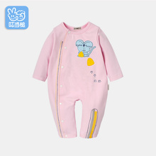 Dinstry baby boys spring and autumn clothes baby girls rompers newborn layette(China)