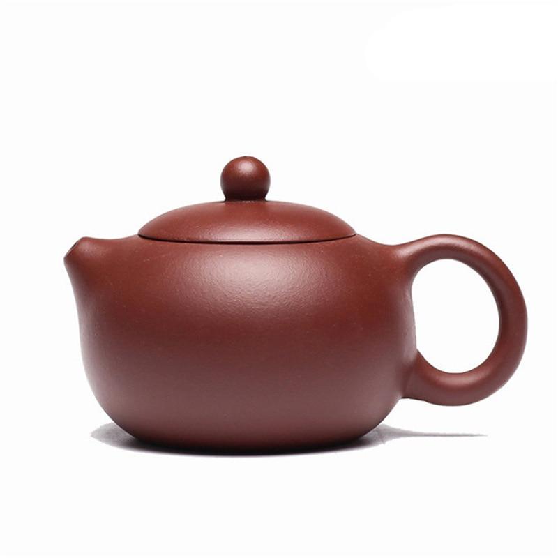 UPORS 200ml Clay Teapot China Yixing Teapot Chinese Handmade Zisha Kungfu Tea Pot Purple Clay Kettle for Puer Oolong Green Tea