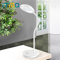 ITimo Dimmable Touch Light White USB Charging LED Desk Lamp Book Reading Light Flexible 3 Modes