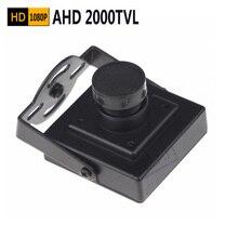 1080P Mini AHD camera 2000TVL 2.0megapixel AHD Camera CCTV security camera indoor AHD mini camera ahd Indoor Metal Security Came