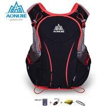 AONIJIE Women Men Outdoor Sport Running Backpack 5L Ultralight Marathon Hydration Vest Backpack Cycling Hiking Bag