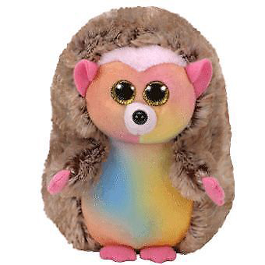 6 15cm Ty Beanie Boos Babie Baby Pinecone the Hedgehog Plush Regular Stuffed Animal Collection Soft Doll Toy