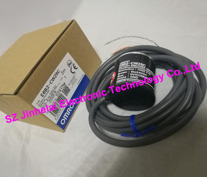 цена на New and original  E6B2-CWZ6C  1000P/R  OMRON  ROTARY ENCODER  5-24VDC
