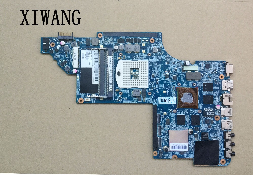 цена 665989-001 free shipping Laptop Motherboard for hp DV7T DV7-6000 motherboard HM65 ddr3 HD 6770M full tested OK в интернет-магазинах