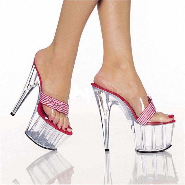 2ec897a2dbe Aliexpress.com   Buy Transparent fashion sandals in the summer wear ...