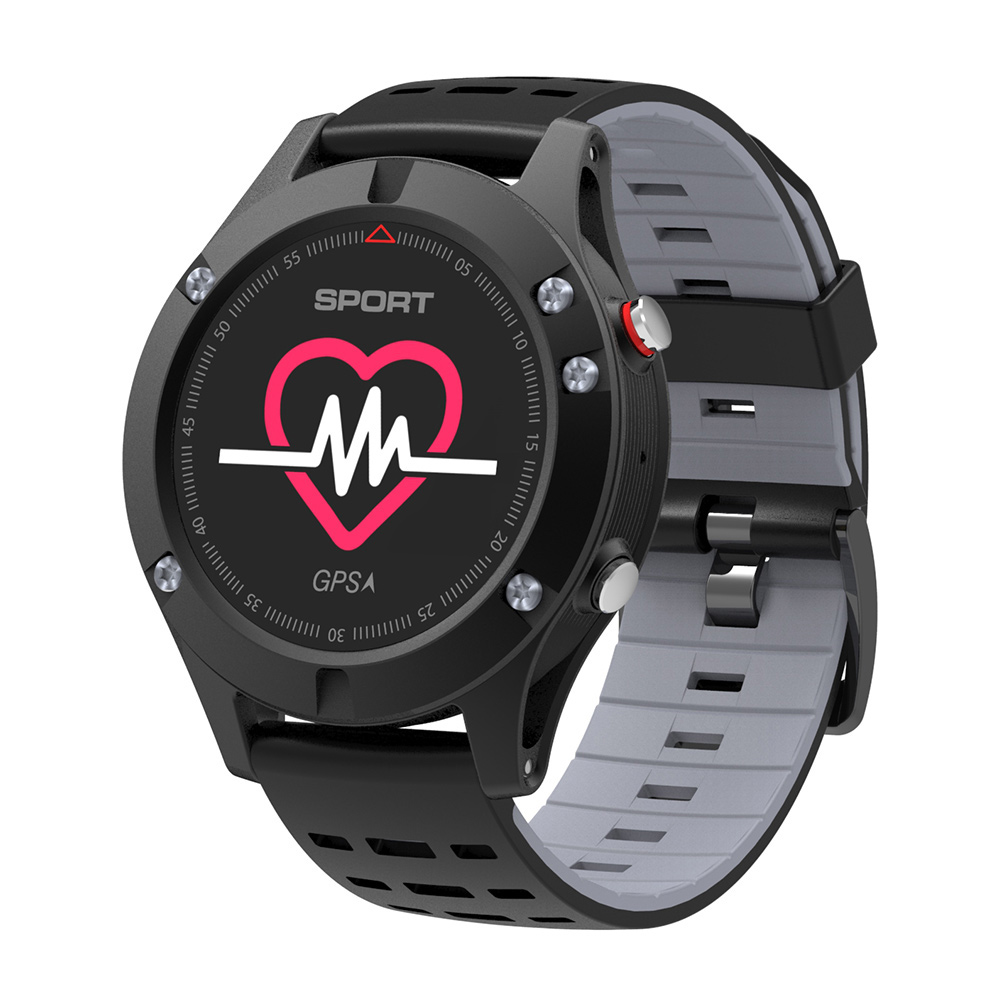 New Smart Watch Men Pedometer Bracelet Heart Rate Monitor GPS Multi-Sport Mode Clock Altimeter Bluetooth Fitness Tracker F5 Band