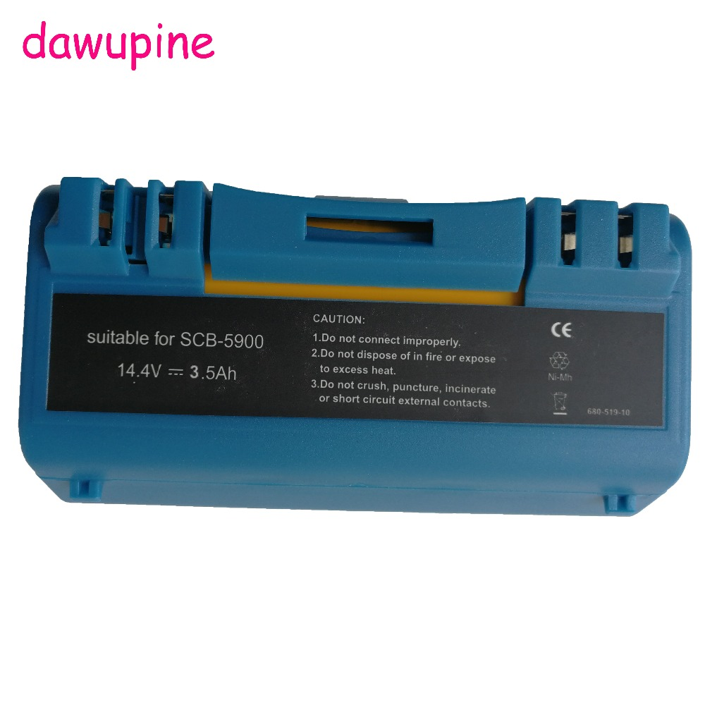 dawupine 14.4V 3.5Ah Ni MH Battery For iRobot Scooba 330 340 34001 350 380 5800 5900 6000 Cleaner APS 14904 SP385 BAT SP5832 -in Rechargeable Batteries from Consumer Electronics