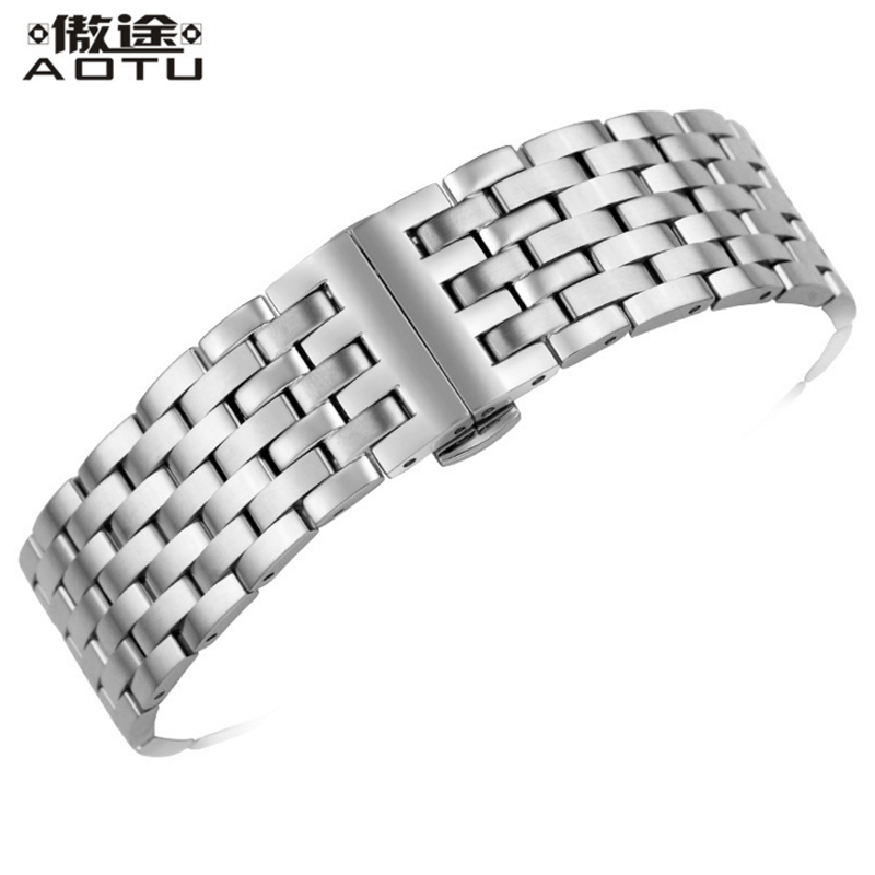 Stainless Steel Watchbands For Tissot 1853 T097 Men 20mm Watch Band Ladies Bracelet Belt 14mm Top Quality Watch Clock Straps 20mm men s canvas watchbands for tissot t095 10 colors watch strap for male nylon watch band for t095 bracelet belt watchstrap