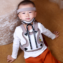 child/adult neck support head and neck chest orthopedic torticollis brace cervical vertebra holder