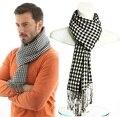 Искусственный кашемир зима Ласточка препояшь шарф мужчины люксовый бренд плед шарфы кисточкой пашмины шарфы, écharpe пасечник, bufandas 2017