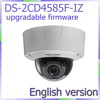 Free Shipping DS 2CD4585F IZ English Version 8MP 4K Smart Outdoor Dome Camera Support Upgrade