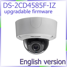 free shipping DS-2CD4585F-IZ english version 8MP 4K Smart Outdoor Dome Camera support upgrade