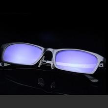 Anti Glare/Blue Light Ratiation Computer Glasses Gaming Glasses Men Square And Aluminum Magnesium Glasses Frame sn80104