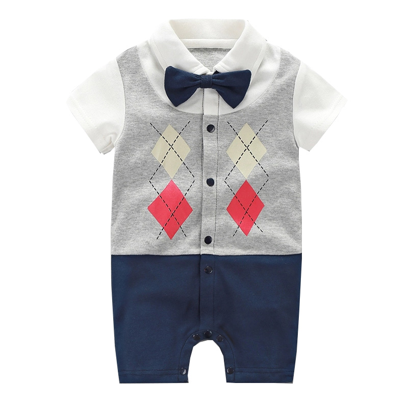 Brand Summer Baby Boys   Romper   Animal style Short Sleeve cotton infant   rompers   Jumpsuit cotton Baby Newborn Clothes Kids Clothing