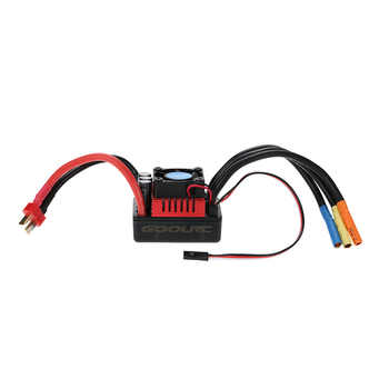 GoolRC S- 120A S- 80A Brushless ESC Electric Speed Controller with 6.1V/3A SBEC for 1/8 RC Car Truck Vehicle Parts