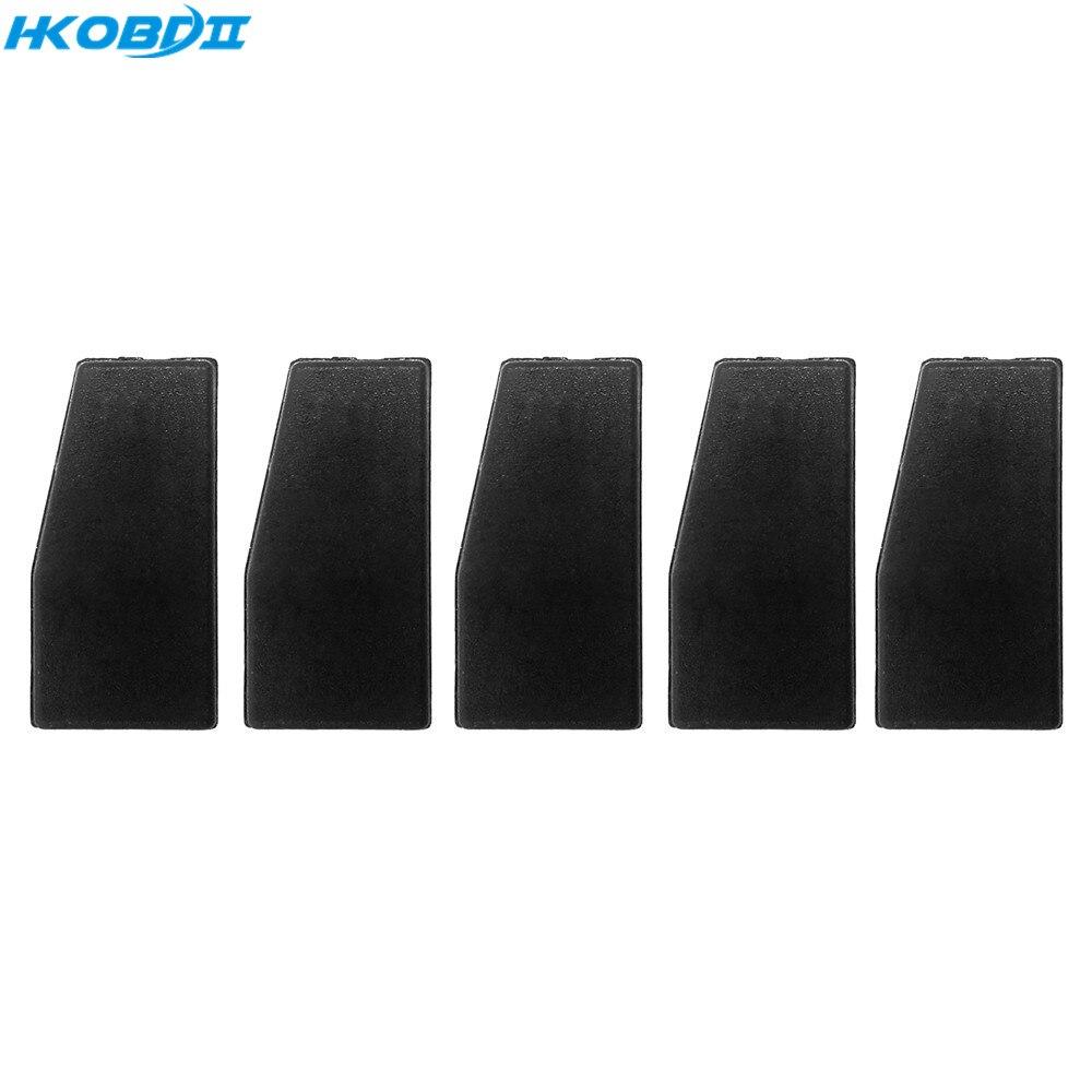 HKOBDII 50pcs New Blank Car Remote Keys 4D63 40Bit Carbon Transponder Chip For Ford Mazda