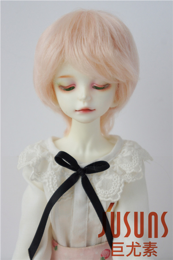 JD293 1/4 Fashion Soft Mohair BJD wigs Short cut doll hair 7-8 inch Doll accessories bjd wigs double braided jerryberry multicolor faux mohair sd doll 1 3 1 4 1 6 1 8