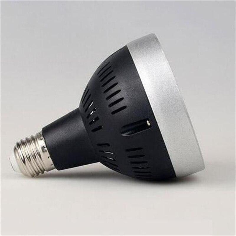 Factory direct sale 45W Osram PAR30 black shell LED Spot light AC85 265V input USA driving IC 3 years warranty in LED Spotlights from Lights Lighting