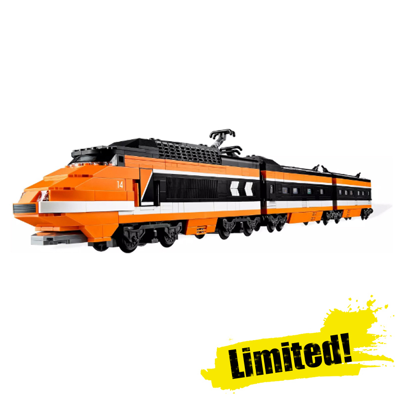 Lepin 21007 1351pcs Technic Creator Series The Horizon Express Train Model Building Blocks Bricks Educaitonal fun Toy for gifts a toy a dream lepin 15008 2462pcs city street creator green grocer model building kits blocks bricks compatible 10185