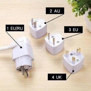 Image 5 - オリジナルurbantin 2ACアウトレット3 usb出力ユニバーサル電源タップ色スマート高速充電usbできるeu au英国米国アダプタ