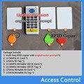 Frete grátis Poderoso conjunto, 9 RFID Freqüência 125 KHz-13.56 MHz IC/Cartão de IDENTIFICAÇÃO RFID Copiadora, RFID Duplicador Versão Inglês Voz