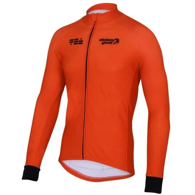 Stolen Goat CYCLING JERSEY LONG SLEEVE MEN 2018 New cycling clothing city bike cycle wear road racing shirt MTB riding clothes 3