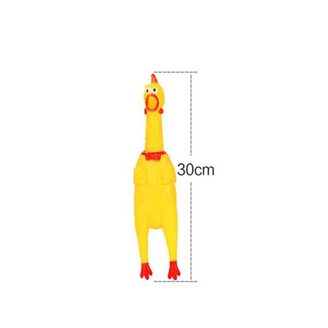 Us 092 30 Offneue Lustige Spielzeug Gags Praktische Anti Stress Witze Rooster Crows Gewinnen Gadget Stress Relief Squeak Spielzeug Schreien