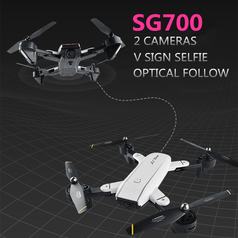 SG700 Fpv Quadcopter Selfie Drones With 2 Camera Drone Wifi Optical Follow Quadcopter RC Helicopter RC Toy Vs Visuo Xs809hw ремантадин таблетки 50 мг 20 шт