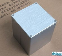 Transformer Cover 90X90X100 Brushed Whole Aluminum Output Transformer Covers for Tube amplifier HIFI Audio DIY Free Shipping