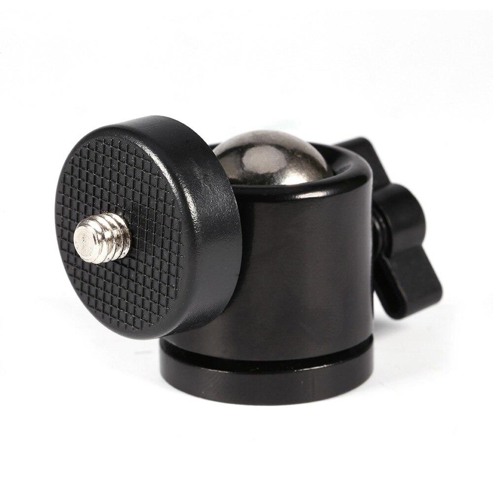 Ball Swivel Head : Mini ball head of camera tripod dslr swivel