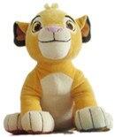 Sevimli aslan kral simba peluş oyuncaklar yumuşak sayfalar hayvan peluş oyuncak bebek çocuk doğum günü hediyesi