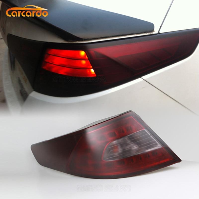 Carcardo Matt Black 30CM X 200CM Auto Car Headlight Taillight Tint Vinyl Film Car Sticker Rear Taillight Fog Lamp Sticker
