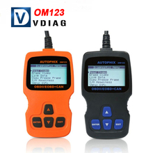 Newest OM123 OBD2 EOBD CAN Hand held OBDII Diagnostic Code Reader Vehicle Code Reader Auto Diagnostic Scan Tool