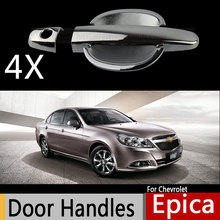 For Chevrolet Holden Epica Daewoo Tosca 2007-2015 Chromium Styling Door Handle Car Covers Car Accessories Stickers Car Styling