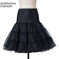 New Arrival Plain Dyed Halloween Underskirt Short Evening Dress Petticoat 2018 Jupon Mariage Enaguas Para El