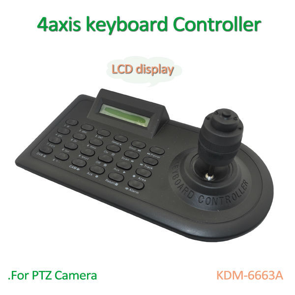 4axis Keyboard Controller for PTZ  Camera Joystick