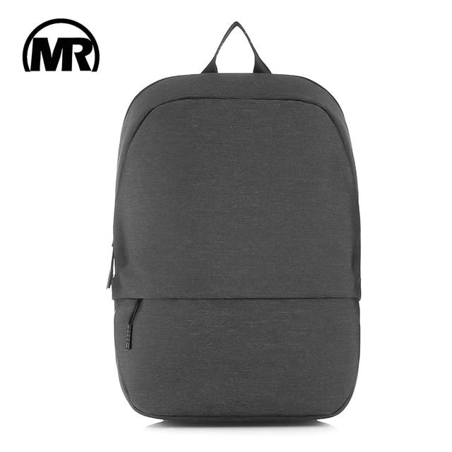 MARKROYAL New Simple Urban Backpack Men Shoulders Bag School Bag Student Minimalist Bag Portable Rucksack Fits 15.6inch Laptop
