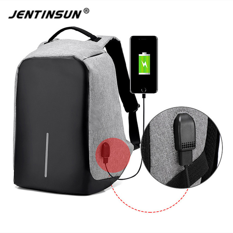 Men's Backpack Anti Theft USB Charging Travel Backpack Waterproof Nylon Unisex School Bags For Female Laptop Business Backpack