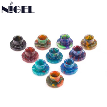 Hot Epoxy Resin Drip Tips E Cigarette Accessory for Cleito 120 Tank Atomizer Vaporizer High Quality
