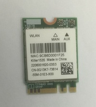 SSEA NEW Wireless Card for Killer Wireless AC 1535 NGFF M 2 wifi Bluetooth 4 1