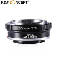 FD NEX FD Mount Lens For Sony NEX 3 NEX 5 NEX VG10 Camera NEX Mount