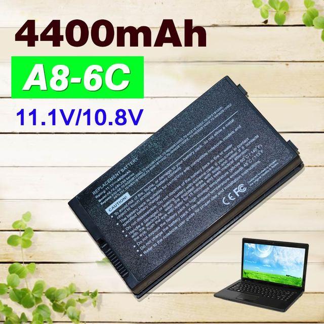 4400 mah batería para asus a32-a8 x83vm z99d z99dc z99 z99f z99e z99h z99he z99j z99ja z99jc z99jn z99je z99jm