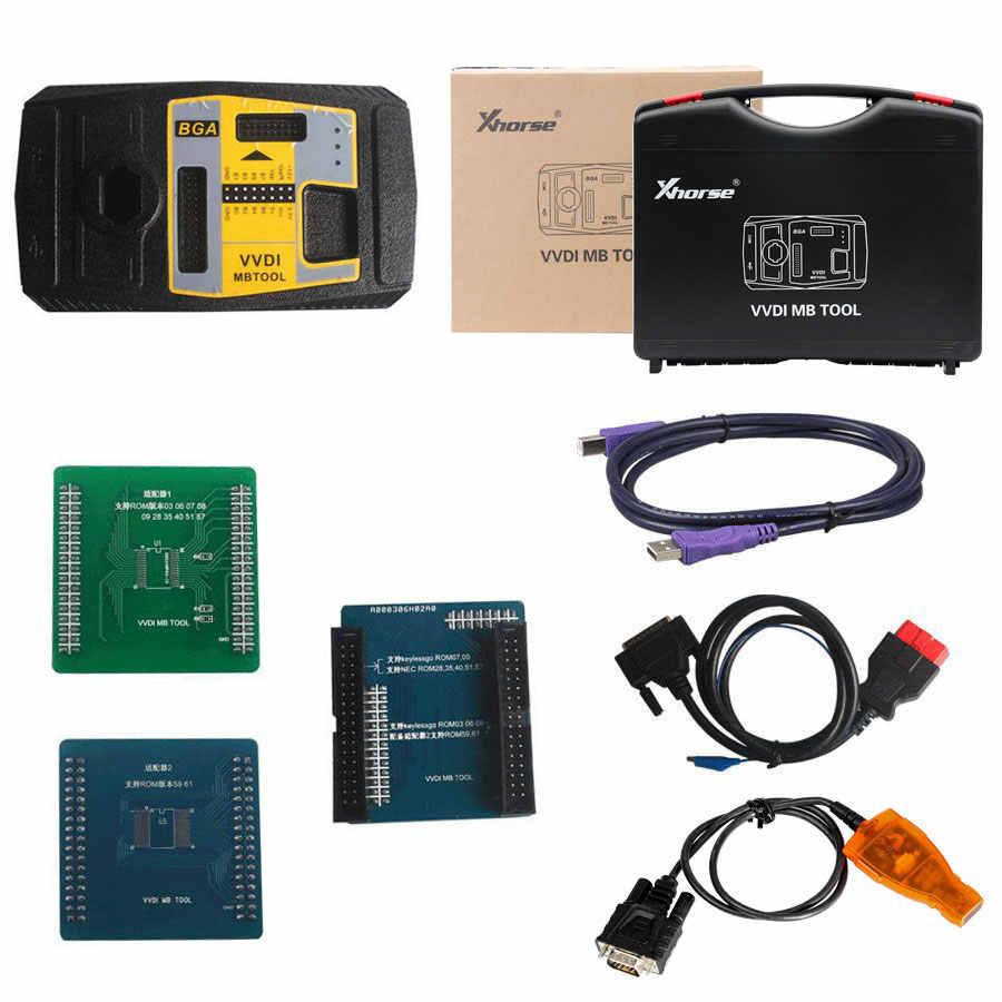 Xhorse V3.0.0 VVDI MB بغا أداة لبنز مفتاح مبرمج بما في ذلك بغا آلة حاسبة وظيفة للعملاء اشترى كوندور القاطع