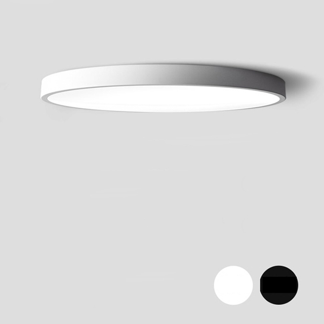 Modern Led Ceiling Lamp Round Super Thin 5cm Light For Bedroom Kitchen Indoor Ac90