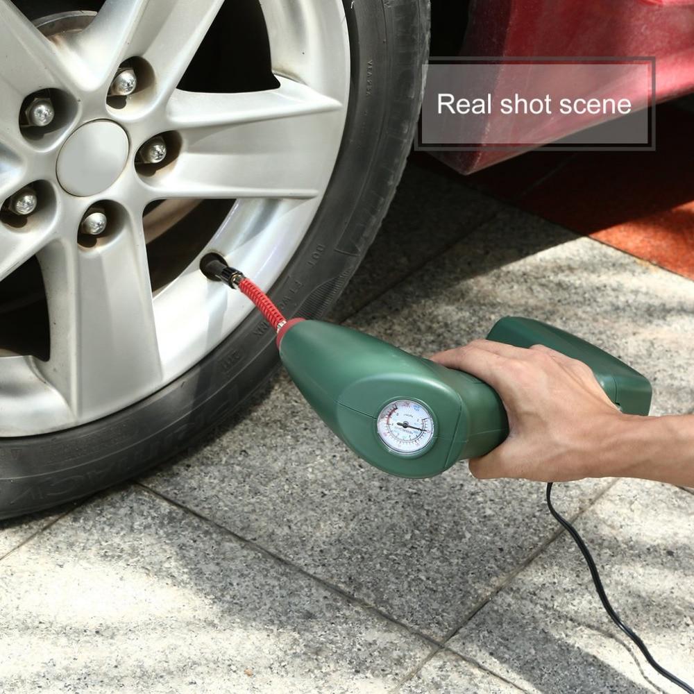 New Handheld Portable Air Compressor Auto Tire Inflator Pump Car Tool for Outdoor Emergency Sport Ball Pool Toys Air Mattresses air dragon portable air compressor