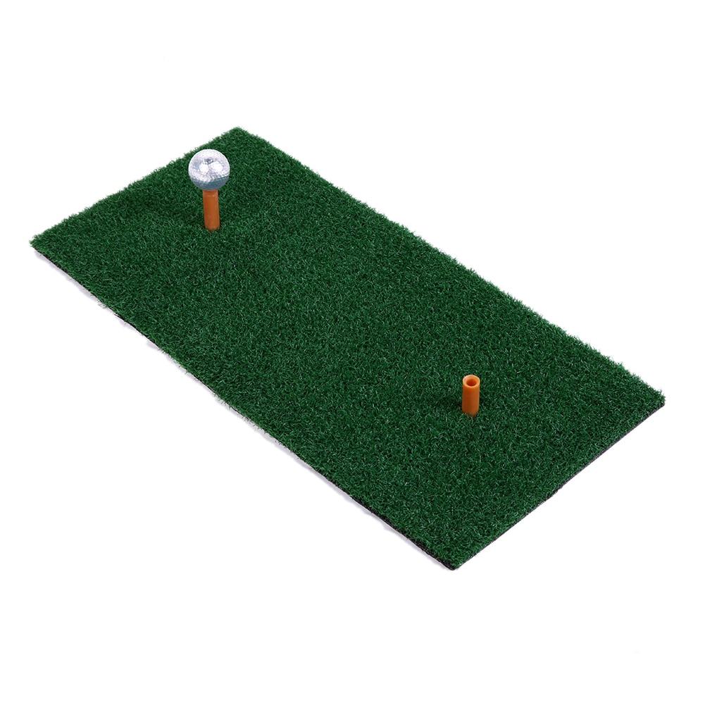 Golf Mat Backyard EVA Residential Training Hitting Pad Practice Rubber Tee Holder Grass Mat Grassroots Outdoor Indoor 60*30CM