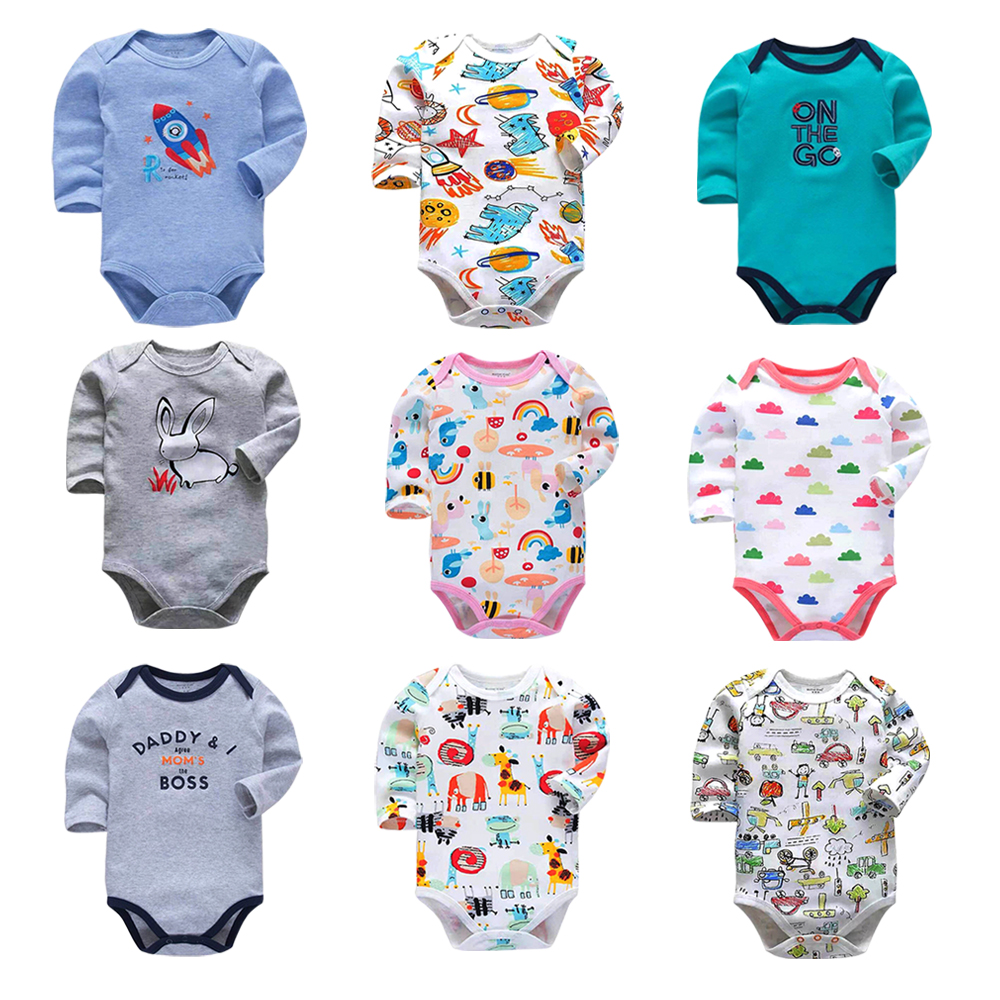 3f7b89a026001 Baby Rompers 2019 Long Sleeve 100%Cotton overalls Newborn clothes Roupas de  bebe boys girls jumpsuit&clothing-in Rompers from Mother & Kids