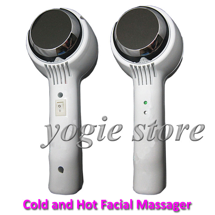 Portable Cold and Hot Facial Massager Face Lifting Lift Wrinkle Remover Skin Tightening Skin Rejuvenation Care Beauty Equipment radiofrequency face lift beauty wrinkle remover anti aging radiofrequency skin tightening beauty and body weight loss device
